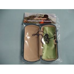 72 Bulk Glasses Case With Cleaning Towel