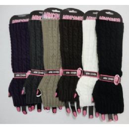 120 Bulk Arm WarmerS-Solid Color Knit