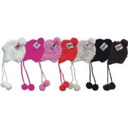 48 Bulk Ladies Hand Made Winter Knit Hat