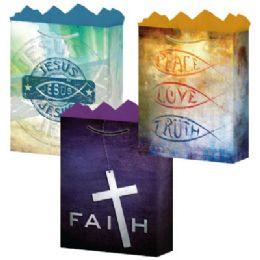 """144 Bulk Faith 3 Asst. Large 10.25"""" X 12.75"""" X 5"""""""