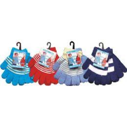 144 Bulk Kids 2 Pair Pack Magic Glove