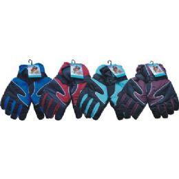 36 Bulk Mens Heavy Duty Ski Glove