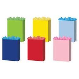 """144 Bulk Solid Colors 6 Asst. Large 10.25"""" X 12.75"""" X 5"""""""