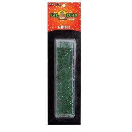 288 Bulk Green Glitter Tube