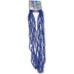 """120 Bulk Festive Beads - 33"""" Royal Blue - 6 ct"""