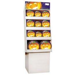 Bulk Pumpkin Grins PrE-Packed Floor Shipper, 156 Ct.