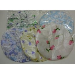 36 Bulk 3pc Printed Shower Cap