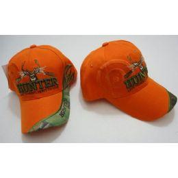 96 Bulk Hunter HaT--Live To Hunt.hunt To Live [target Shadow]-Orange Only