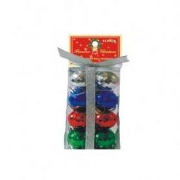 72 Bulk Christmas Disco Ball OrnamentS- Multi Color
