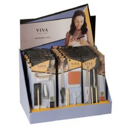 144 Bulk Viva Manicure Set In A Display Box
