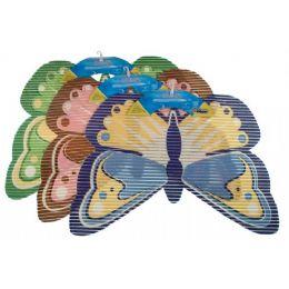 48 Bulk Item# 4574 NoN-Slip Mat Butterfly Shape