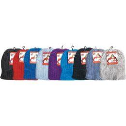 96 Bulk Cable Knit Hat Assorted Colors
