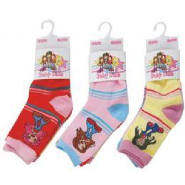 144 Bulk 3 Pack Of Kids Socks