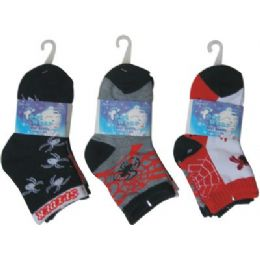 72 Bulk 3 Pack Kids Sock