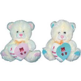 48 Bulk Big Teddy Bear 12inch
