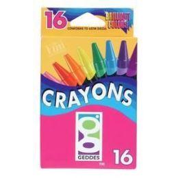 144 Bulk 16 Ct. Crayons