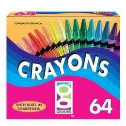 48 Bulk 64 Ct. Crayons