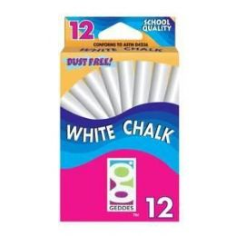 144 Bulk 12 Ct White Chalk Pack