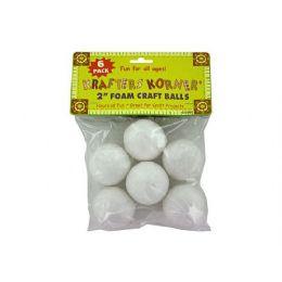 72 Bulk Foam Craft Balls