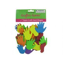 72 Bulk Foam Craft Hand And Feet Shapes