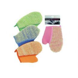 72 Bulk Loofah Bath Glove