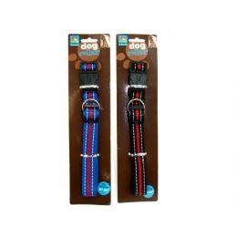 "72 Bulk Dog Collar, Fits 18-24"" Neck, Assorted Colors"