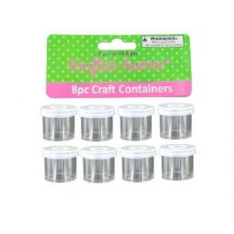 72 Bulk Small Craft Containers 8 Pack
