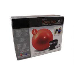 6 Bulk Exercise Ball With Pump