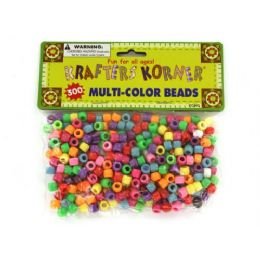 72 Bulk MultI-Color Crafting Pony Beads