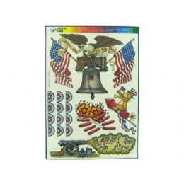180 Bulk Liberty And Justice Window Clings