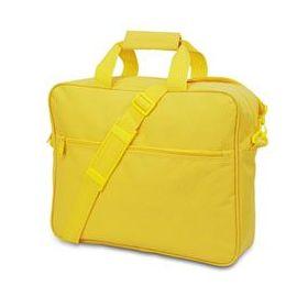 24 Bulk Convention Briefcase - Bright Yellow