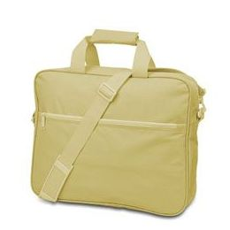 24 Bulk Convention Briefcase - Light Tan