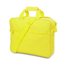 24 Bulk Convention Briefcase - Safety Green