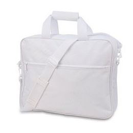 24 Bulk Convention Briefcase - White