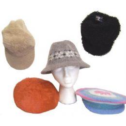 72 Bulk Assorted Ladies Winter Hats