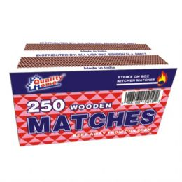 48 Bulk 2 Pack Matches 250ct