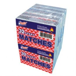 48 Bulk 10 Pack Matches 32ct