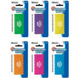 12 Bulk Magnetic Whiteboard Eraser W/ Foam Comfort Grip