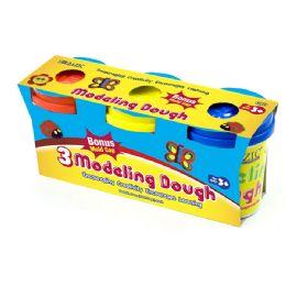 24 Bulk 5 Oz. Multi Color Modeling Dough (3/pack)