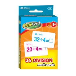 24 Bulk Division Flash Cards (36/pack)