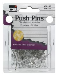 12 Bulk Cli Push Pins