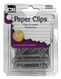 12 Bulk Cli Paper Clips 45