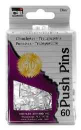 12 Bulk Cli Push Pins 60