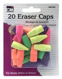 12 Bulk Charles Leonard 20 Eraser Caps