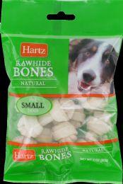 12 Bulk Hartz Dog Chew R/H Bone Mini