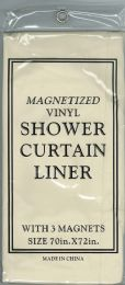 6 Bulk Shower Curtain Jm Liner Bone
