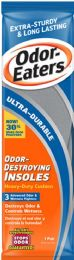 12 Bulk Odor Eaters Ultr Drble Insoles