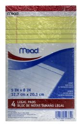 12 Bulk Mead® Junior Legal Pad