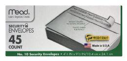 12 Bulk Mead Security Envelopes 45 Count