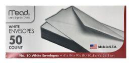 12 Bulk Mead #10 Envelopes, 4 1/4 Inch X 9 1/2 Inch